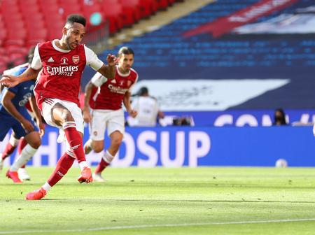 Aubamenyang sets another record with his goal against Chelsea in the FA cup final
