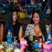 Check Photos Of Erica, Nengi And Other Celebrities Spotted Enjoying Themselves At AY Show