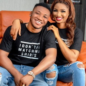 Newly Wedded Upcoming Yoruba Actor Twin In The Same Outfit With His Wife Today