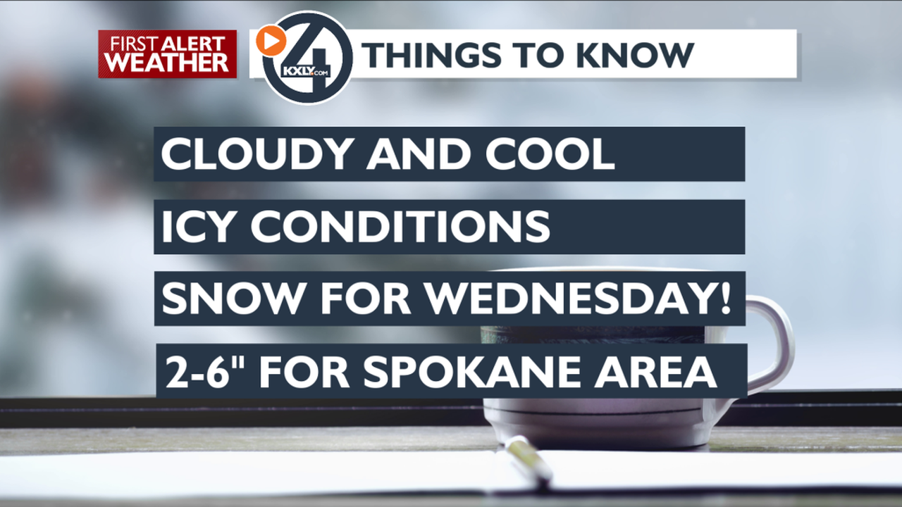 A Winter Blast Coming in Wednesday - Mark