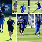 Star returns for Chelsea as last training pictures prove his available against Jose Mourinho side