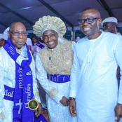 Photos of Esther Ajayi with Obasanjo, Atiku, Amaechi and other politicians