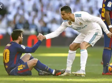 Throwback to that time a supercomputer calculated Messi Vs Ronaldo, the result wasn't even close