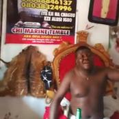 Ada Jesus may be forgiven soon, see new video of a native doctor begging Odumeje to forgive her