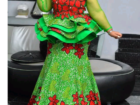 Latest Aso-Ebi styles for beautiful women.