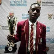 Meet a learner who passed Grade 12 with 8 distinctions & now he is looking for a bursary