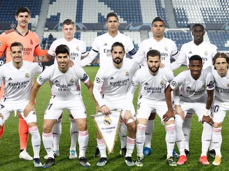 UCL:This is Predicted Real Madrid starting XI after Varane has being tested positive to Covid-19.