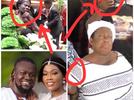 Few Hours Into Eddie Nartey Wife Burial, See What Is Happening At The Venue That Stuns Ghanaians
