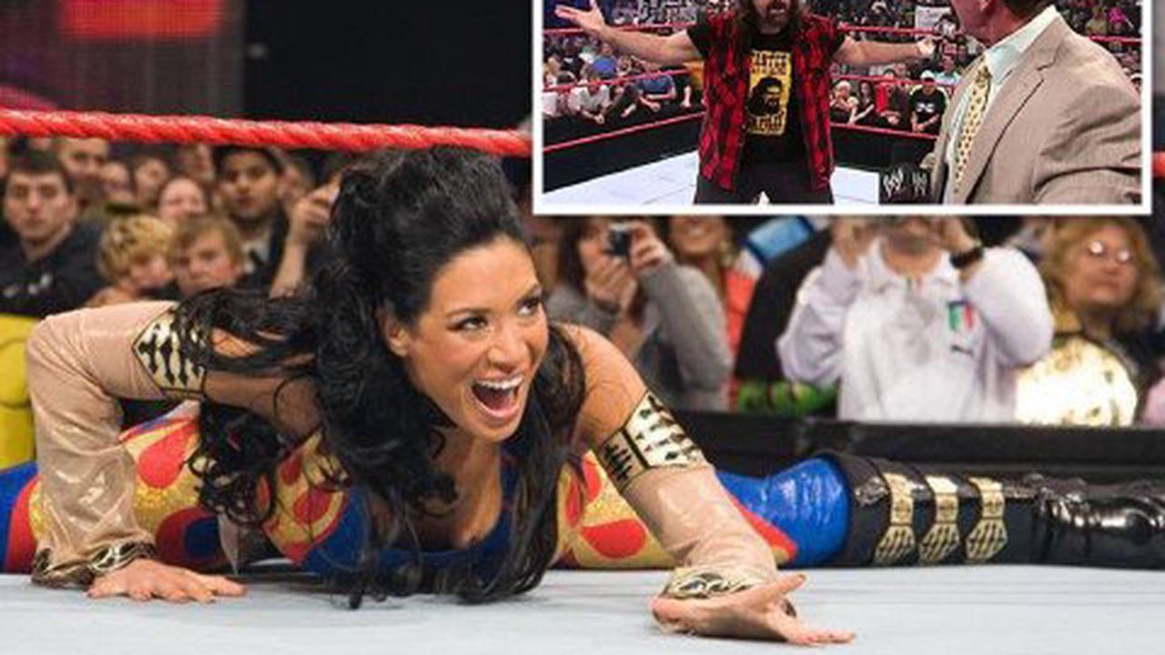 Ex-WWE star Melina nearly broke character when Mick Foley joined Vince McMahon's 'Kiss My Ass Club'