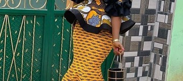 Ankara: skirt and blouse styles for ladies with swag