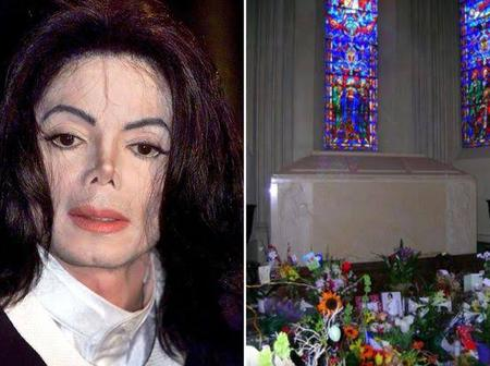 11 Years After Micheal Jackson's Death, See What His Grave Looks Like - (Photos)