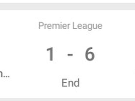 After Manchester United Lost 6-1 To Tottenham, See How The English Premier League Table Looks Now.