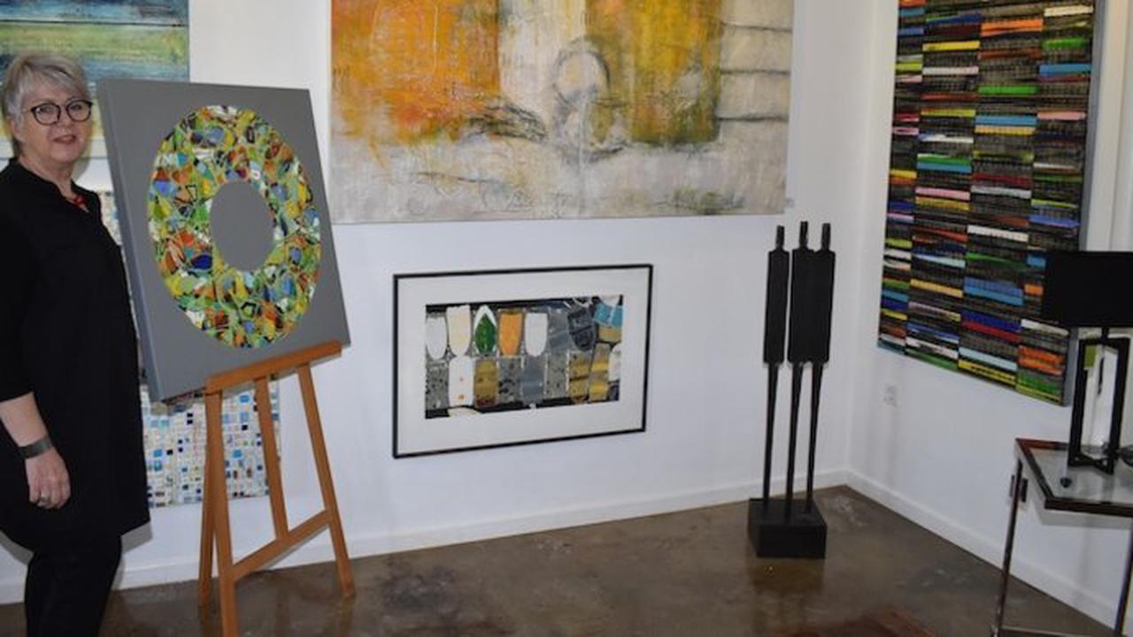 In der Galerie XIX in Golmbach stellen Petra Rös-Nickel und Armin Weinbrenner aus