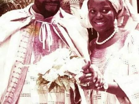 How Time Flies, See Throw Back Pictures Of Olu Jacobs And Beautiful Wife