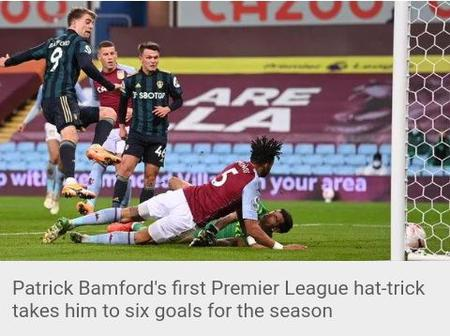 Aston Villa Unbeaten Record thrashed by resilient Leeds.