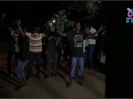 Night Drama as Angry Youths Storm Msambweni Tallying Center Citing Rigging In The Polls