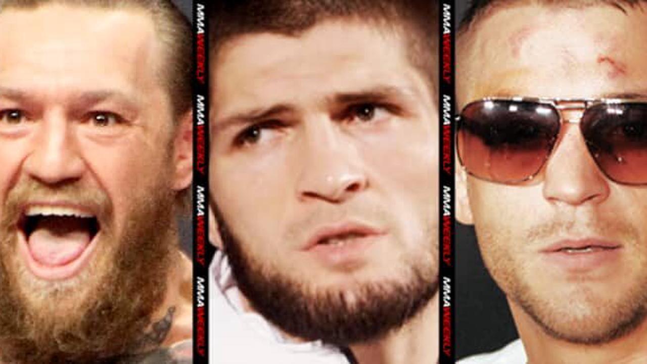 Khabib believes winner of Conor McGregor vs. Dustin Poirier will fight for his UFC title
