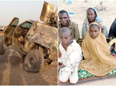 Bad Day For Boko-Haram Insurgents In Borno, See What Nigeria Troops Did To Them