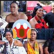 Check These Photos Of Ghanaian Actress Borga Silvia Mother's Burial