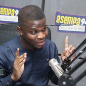I'm Pained; I Now Understand We Don't Have NDC Speaker After All - Sammy Gyamfi Disappointed