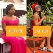 """""""Stop The Tea, You Are Loosing Weight""""- Fan Reacts To Regina Daniels Weight Loss (Photos)"""