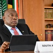 Cyril Ramaphosa just got very angry: See what he called those stealing COVID19 funds.