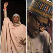 See reactions as Aisha Yesufu shares a tweet posted by President Muhammadu Buhari in 2015.