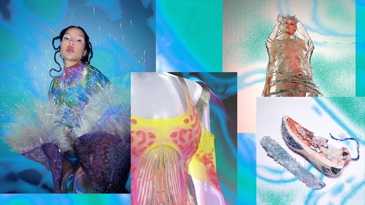 Algae, spider webs and mushrooms – the materials shaping fashion's future
