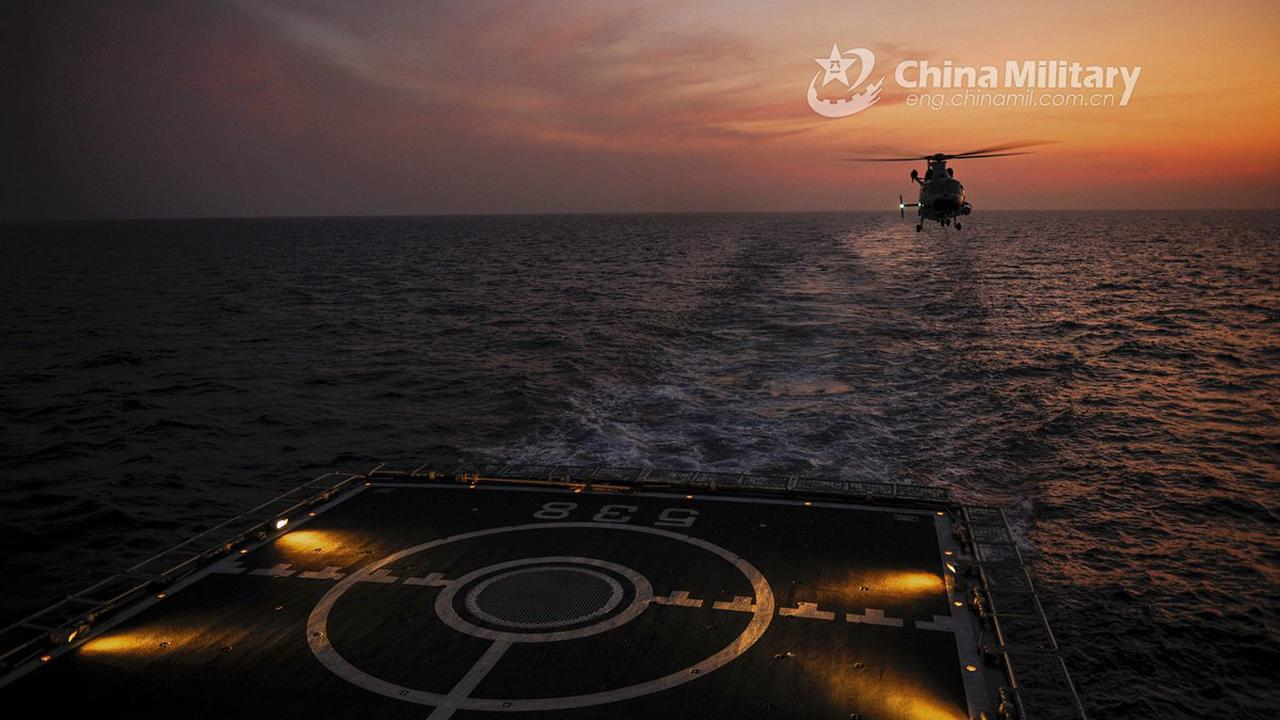 Chinesische und singapurische Marine halten gemeinsame Übung ab