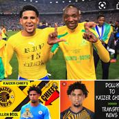 """Kaizer Chiefs to re-unite """" CBD"""" teammates by signing Dolly?"""