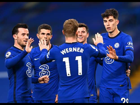 See Photos Of Chelsea Players In Action, After They Luckily escaped a Defeat From Southampton Today