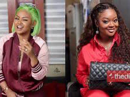 Beauty contest(No makeup Challenge): Nana McBrown and Jackie Appiah