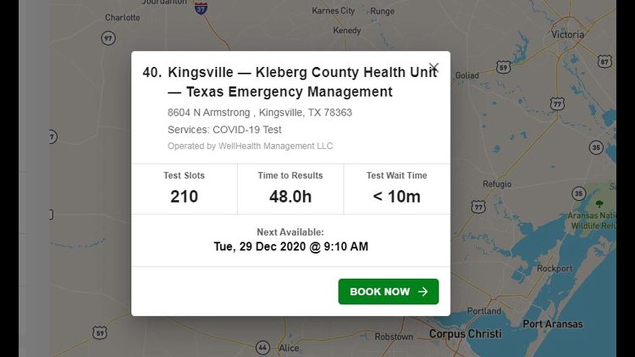 Kleberg County opens fixed COVID-19 testing site