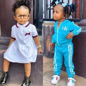 Lovely: Check out the cute photos of Simona, Strongman's daughter