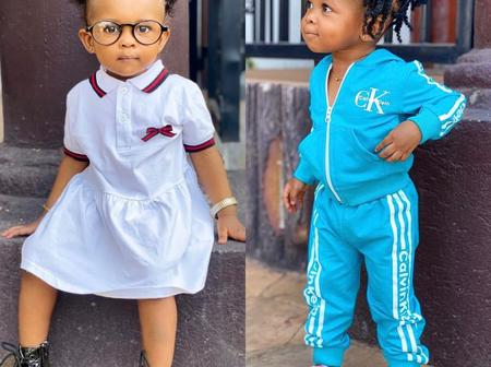 Lovely: Check out the cute photos of Simona, Strongman's daughter