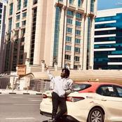 Ghanaian Rapper Amerado Burner Now A Taxi Driver In Dubai (Photo)