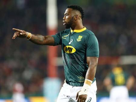 Check out Siya Kolisi's look alike, and this is what Siya said to him.