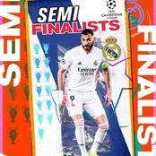 After Real Madrid Defeated Liverpool, See Who They Will Play In The UCL Semi Finals