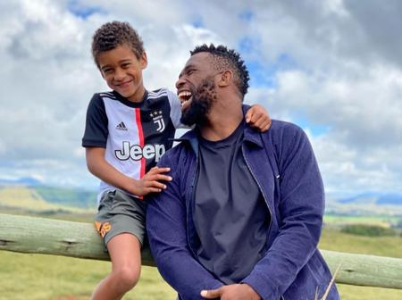 Fans sympathize with Springbok captain as he reveals that he misses his son.