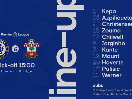 Chelsea confirmed official Lineup vs Southampton:Pulisic starts, Kepa returns