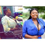 Meet Milicent Paticia Amoah, The Most Curves And Beautiful Ghana Actress