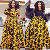 Make Yourself Noticeable and Outstanding In Any Occasion, With These 2021 Beautiful Ankara styles