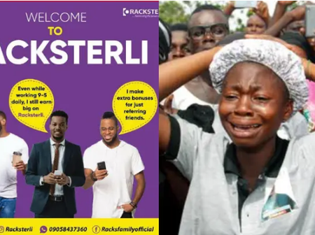 Nigerians Cries Out As Racksterli Reportedly Crash