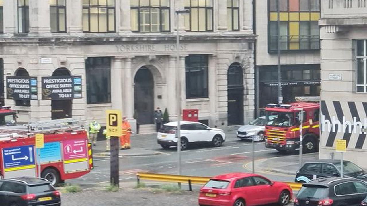 Live updates as emergency services seal off Liverpool city centre streets