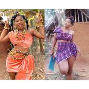 Destiny Etiko Is So Gorgeous, Here Are Her Pictures Rocking Native Attires On Movie Sets