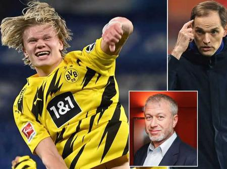 Can Chelsea Still Buy Haaland As Dortmund Finally Releases Haaland's Price Tag Value