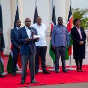 Uhuru Kenyatta's 'Coalition of Chaos' (Photos)