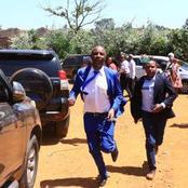 Kang'ata Breaks Silence After Photo of Him Running to Meet DP Ruto Emerged