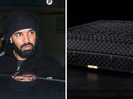 Canadian Rapper, Drake Is Using The Most Luxurious Bed Worth $400,000 (Pictures)