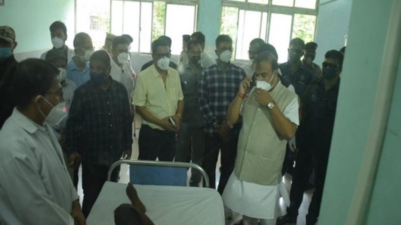 Assam CM visits Silchar Medical College